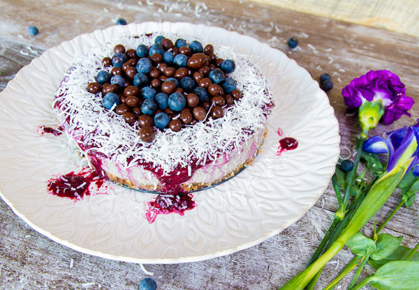 Raw Acai Cheesecake