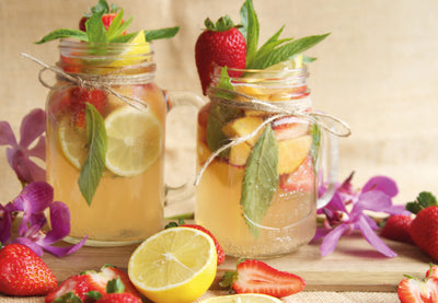 Sparkling Iced Tea