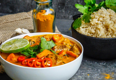Turmeric Lamb Curry