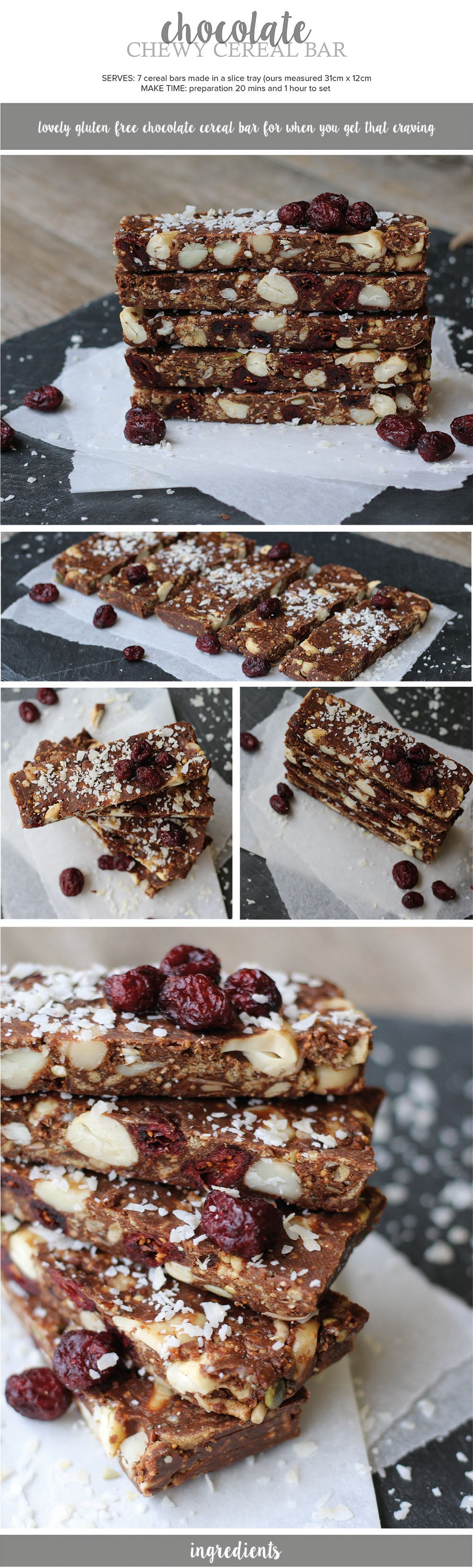 Chocolate Cereal Bar Recipe