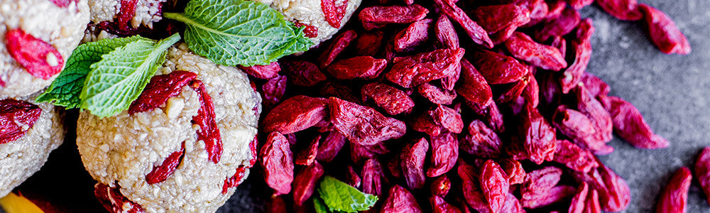 antioxidant rich goji berries