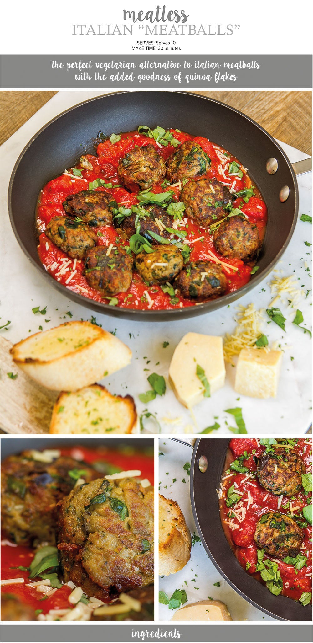 Meatless Italian Meatballs Recipe