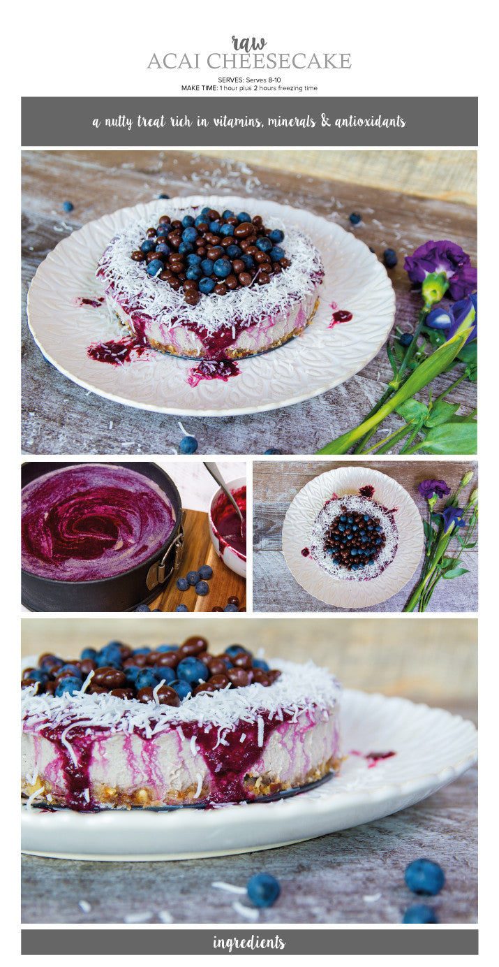 raw acai cheesecake recipe