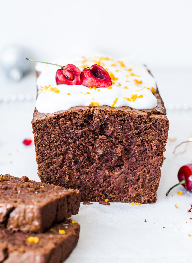 keto spiced gingerbread loaf