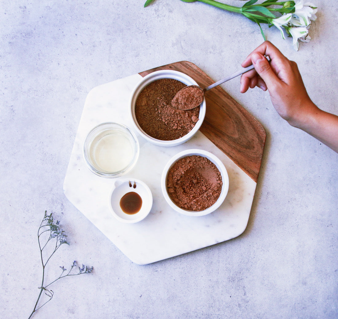 cacao sugar scrub superfood body scrub recipe