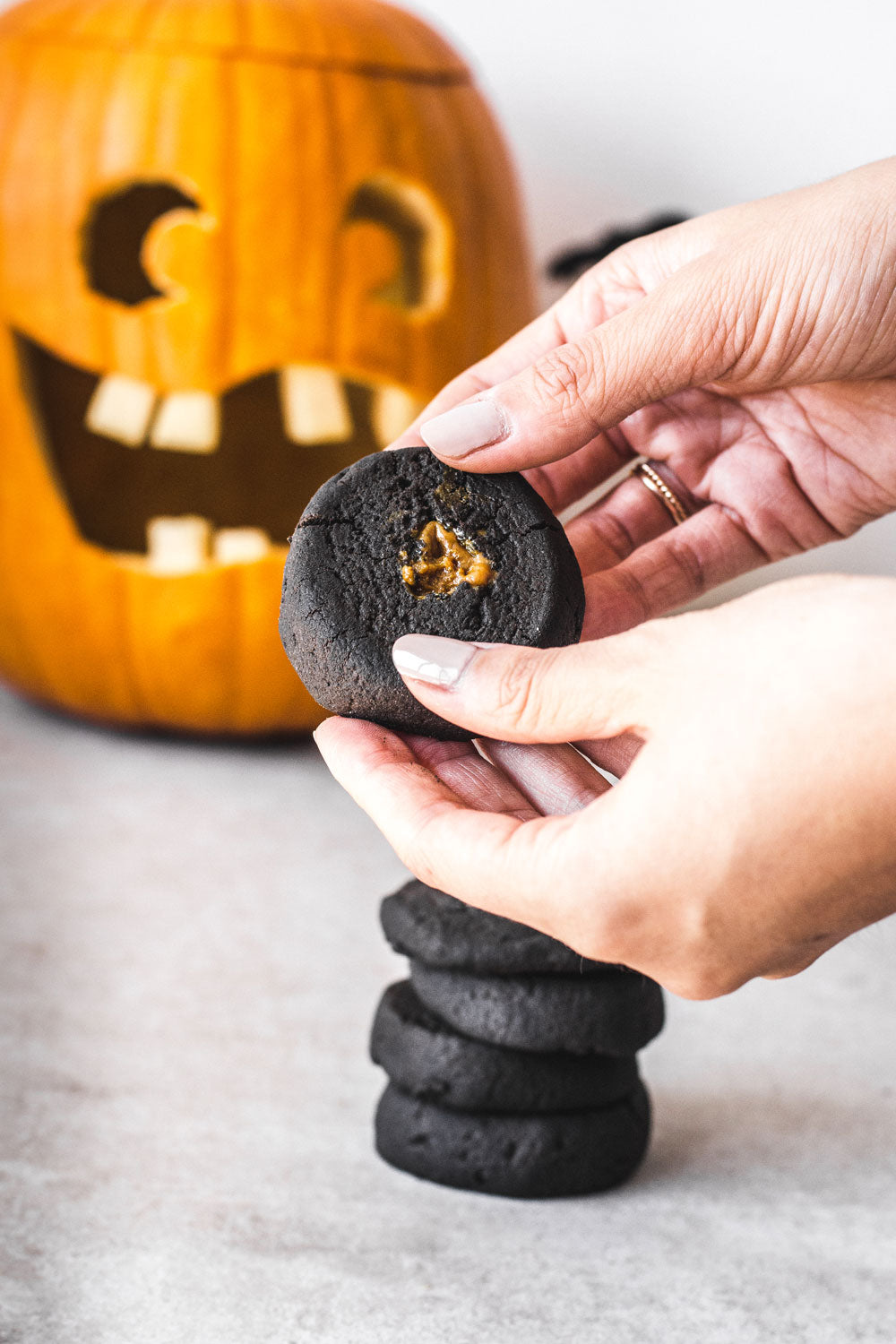 halloween charcoal cookie recipe