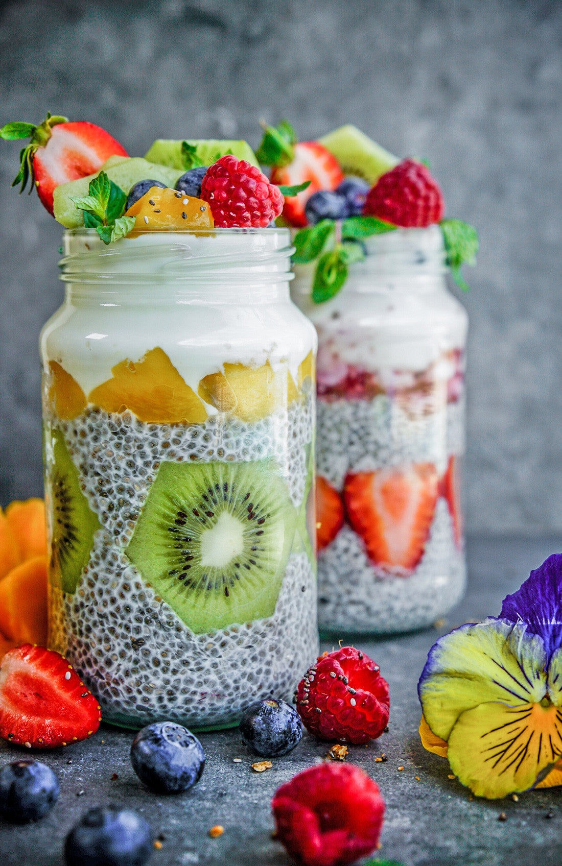 Chia seeds breakfast ideas