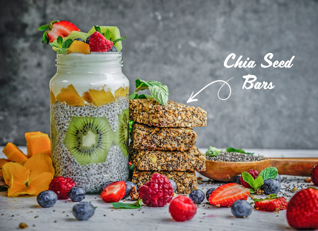 chia seed bars recipe gluten free