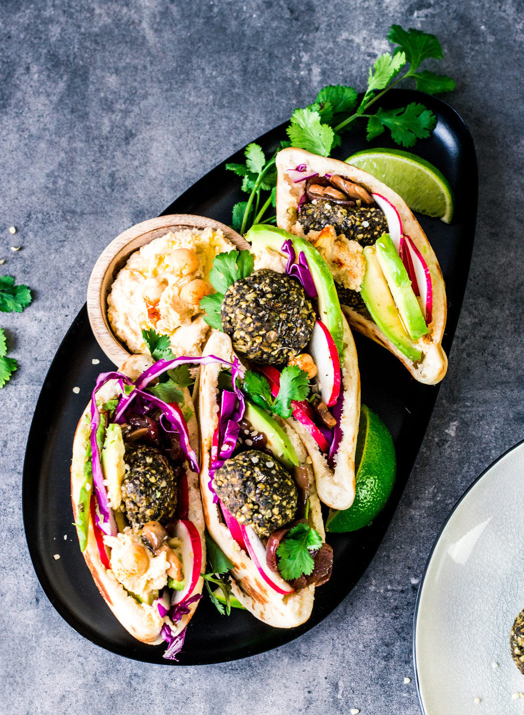 vegan falafel pita recipe