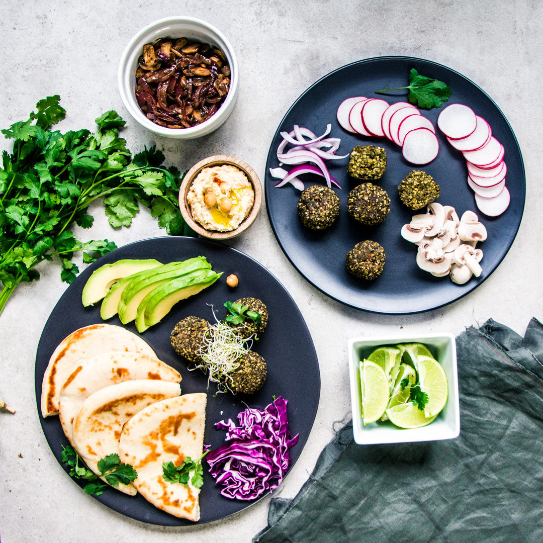 vegan hemp falafel supreme recipe