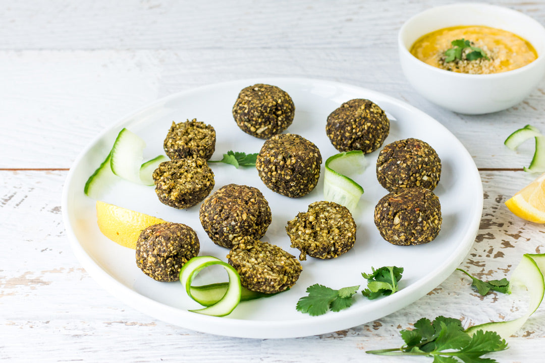 hemp falafel recipe