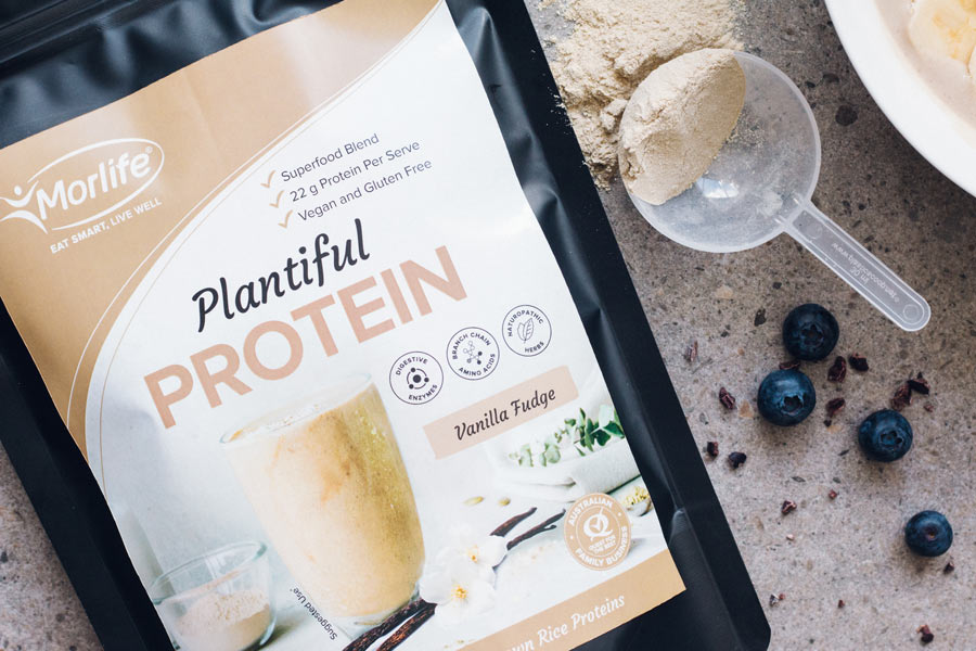 Morlife Plantiful Protein Vanilla Fudge