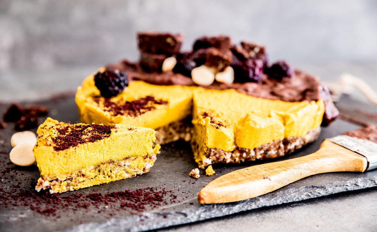 raw turmeric acai cheesecake recipe