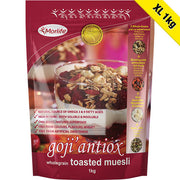 Goji Antiox Wholegrain Toasted Muesli 1kg