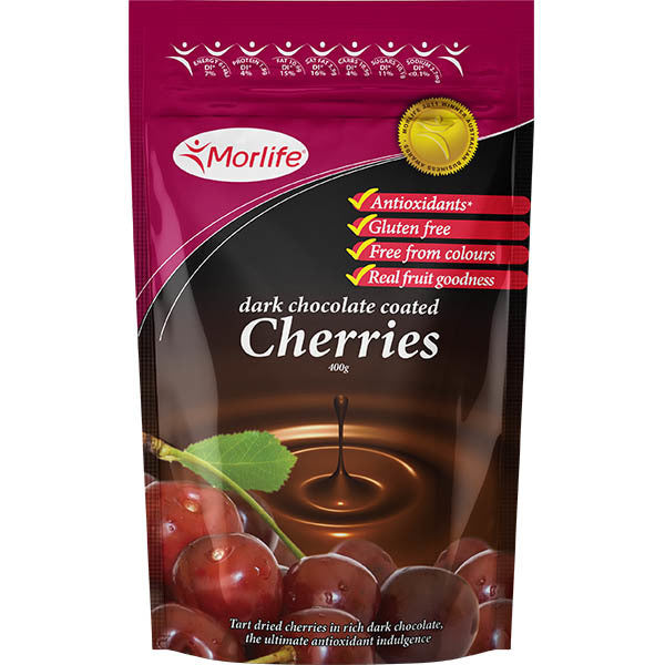Dark Choc Coated Cherries 125g