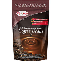 Dark Choc Coffee Beans 125g