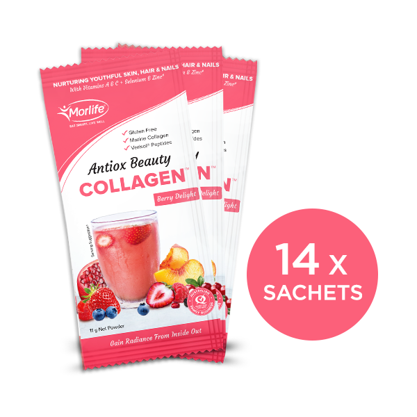 Antiox Beauty Collagen Handy Pack 14 x 11g Sachets
