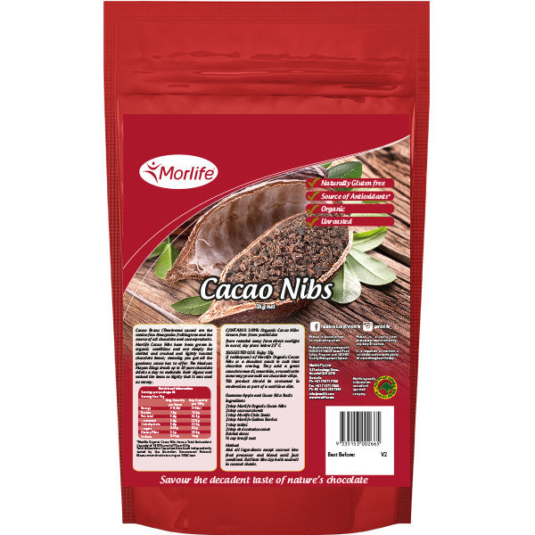 Cacao Nibs (Unroasted) Organic 1kg