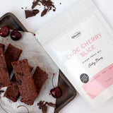 Ashy Bines Choc Cherry Slice Treats 260g