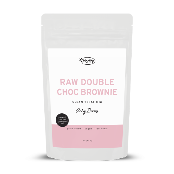 Ashy Bines Raw Double Choc Brownie Treats 260g