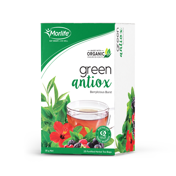 Green Antiox Teabags 25