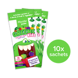 Morlife Junior Greens Kidz Sachets 10 Pack
