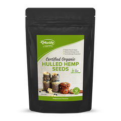 Morlife Certified Organic Hulled Hemp Seeds
