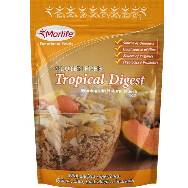 Tropical Digest Gluten Free Wholegrain Muesli