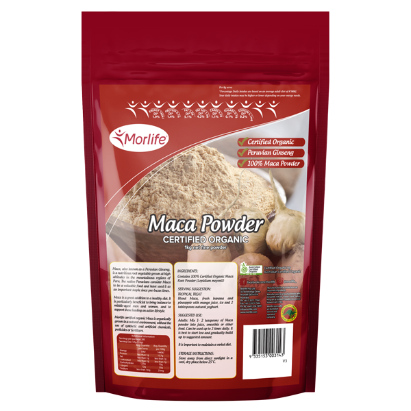 Maca Powder Certified Organic