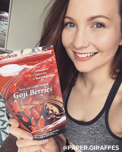 Morlife Dark Chocolate coated Goji Berries