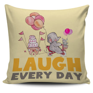 LAUGHT- PILLOW COVER