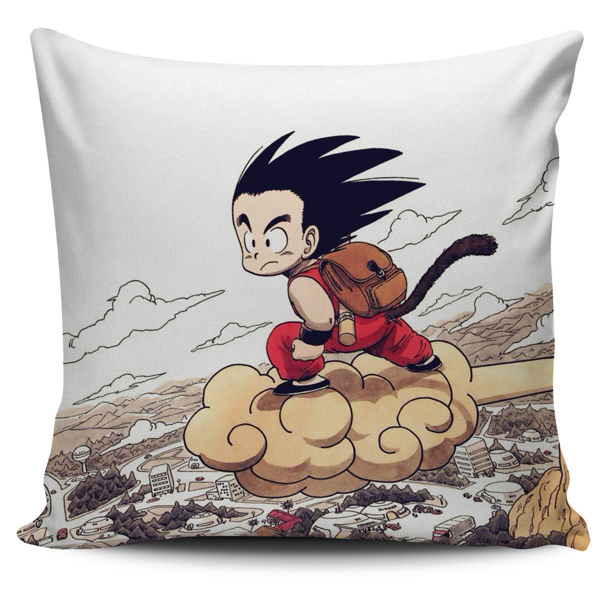 Kid Goku Pillow Cover