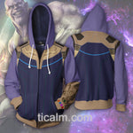 Thanos Zip Up Hoodie