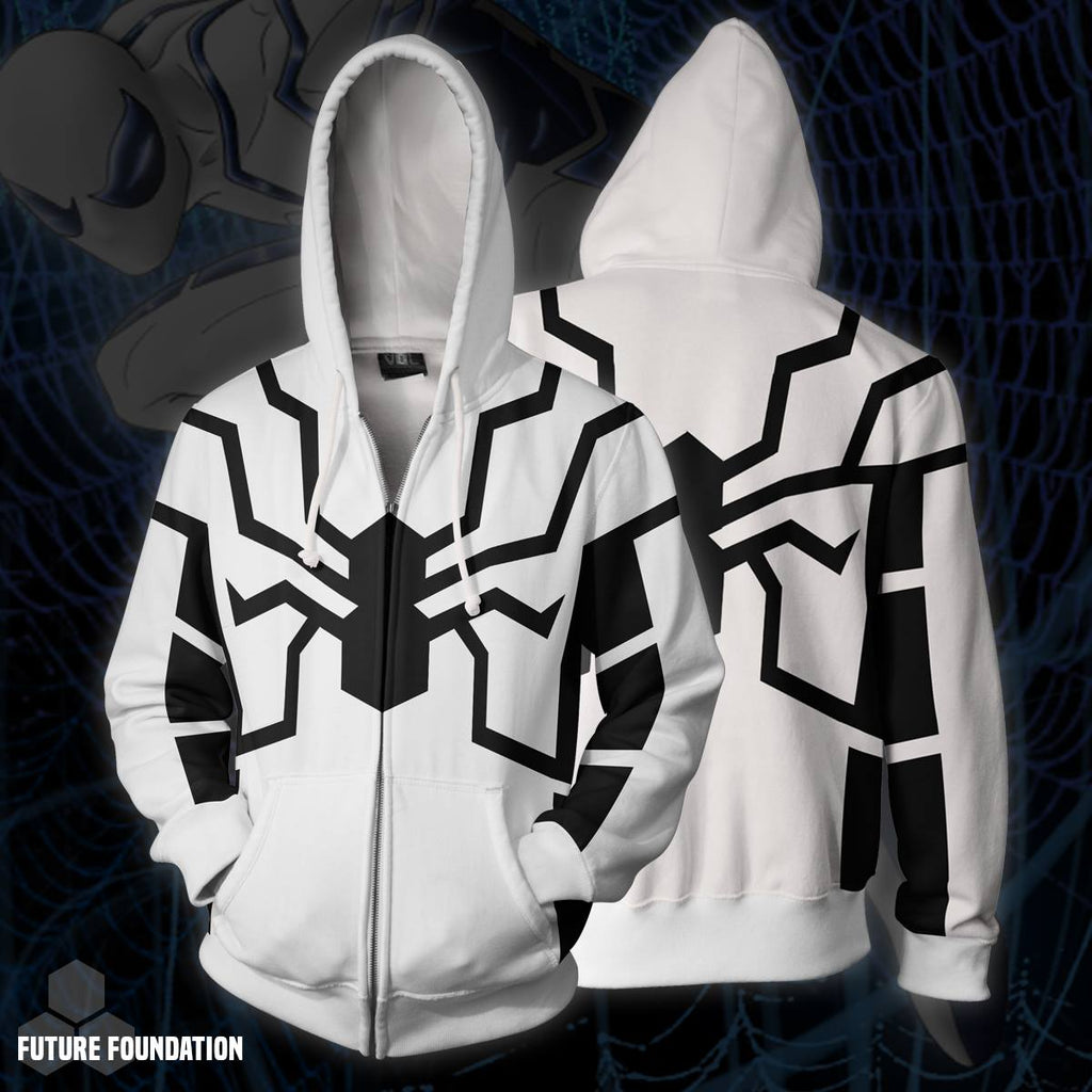 Future Foundation Spider-man Zip Up Hoodie
