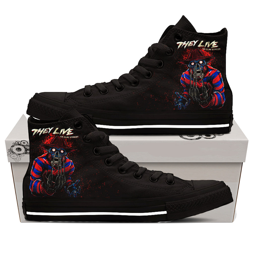 They Live On Elm Street Shoes