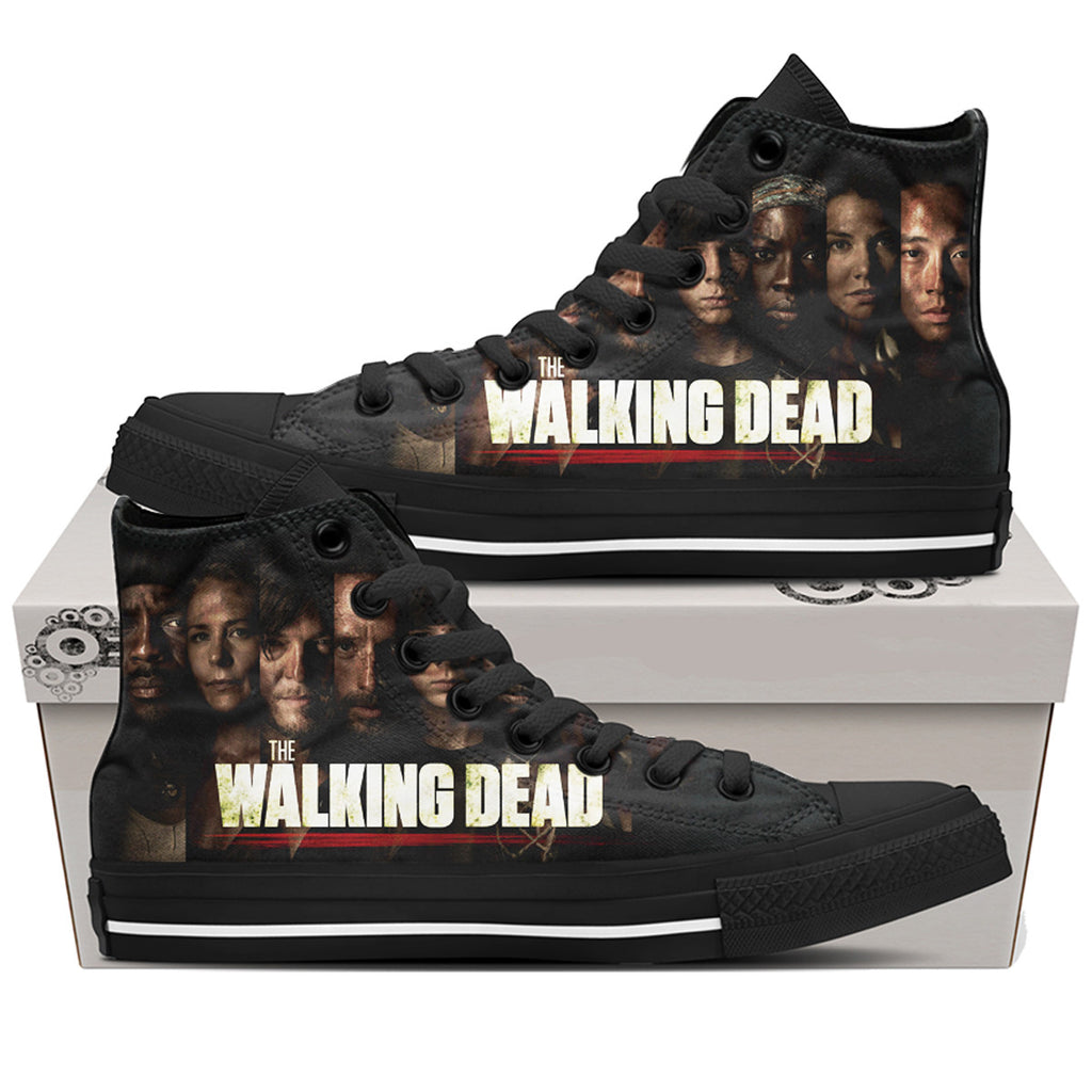 The Walking Dead Characters Shoes