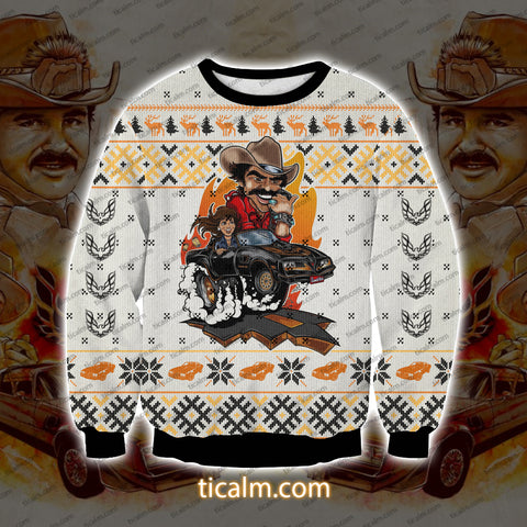 Smokey And The Bandit V3 Knitting Pattern All Over Print Ugly