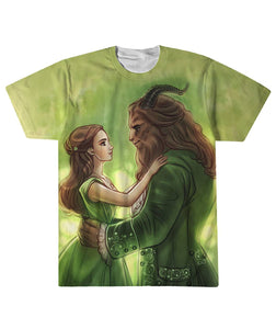 Beauty And The Beast Patrick's day T shirt