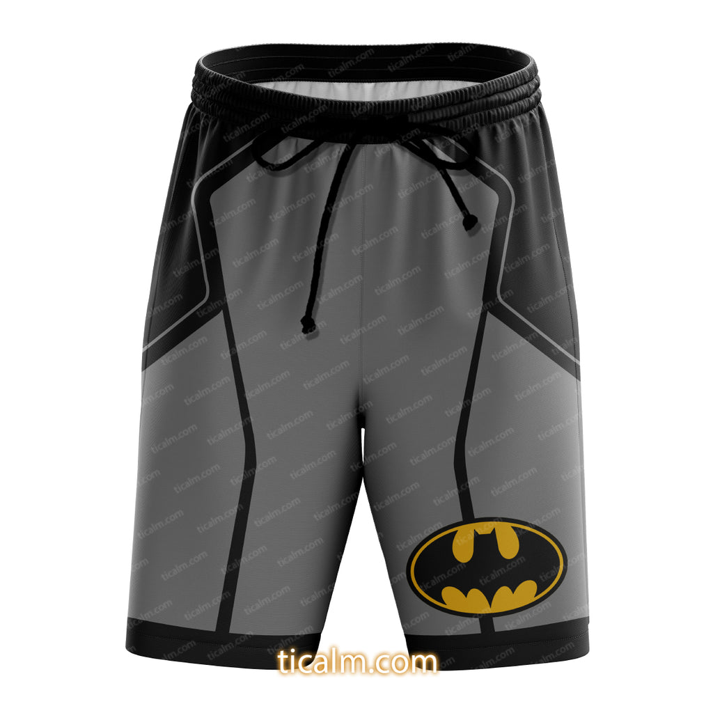 Batman Nightwing Red Hood Robin Beach Shorts