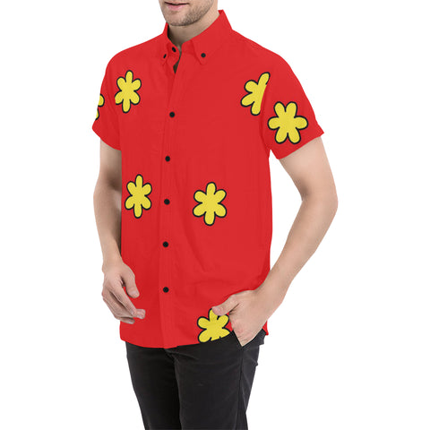 Family Guy Button Up Shirt Large Size