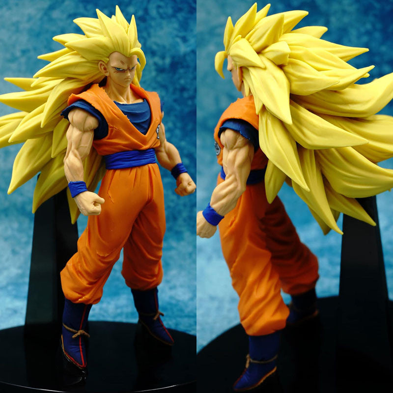 dragon ball z son goku super saiyan 3 20cm pvc action figure ticalm