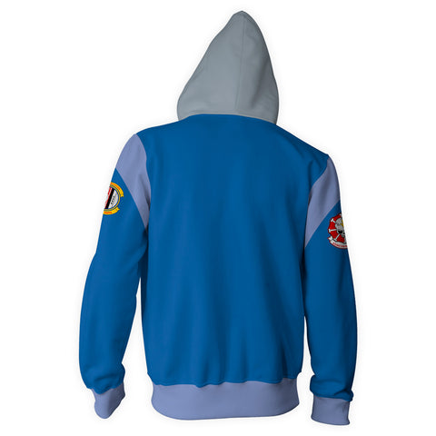Image of Babylon 5: Starfury Pilot Zip Up Hoodie
