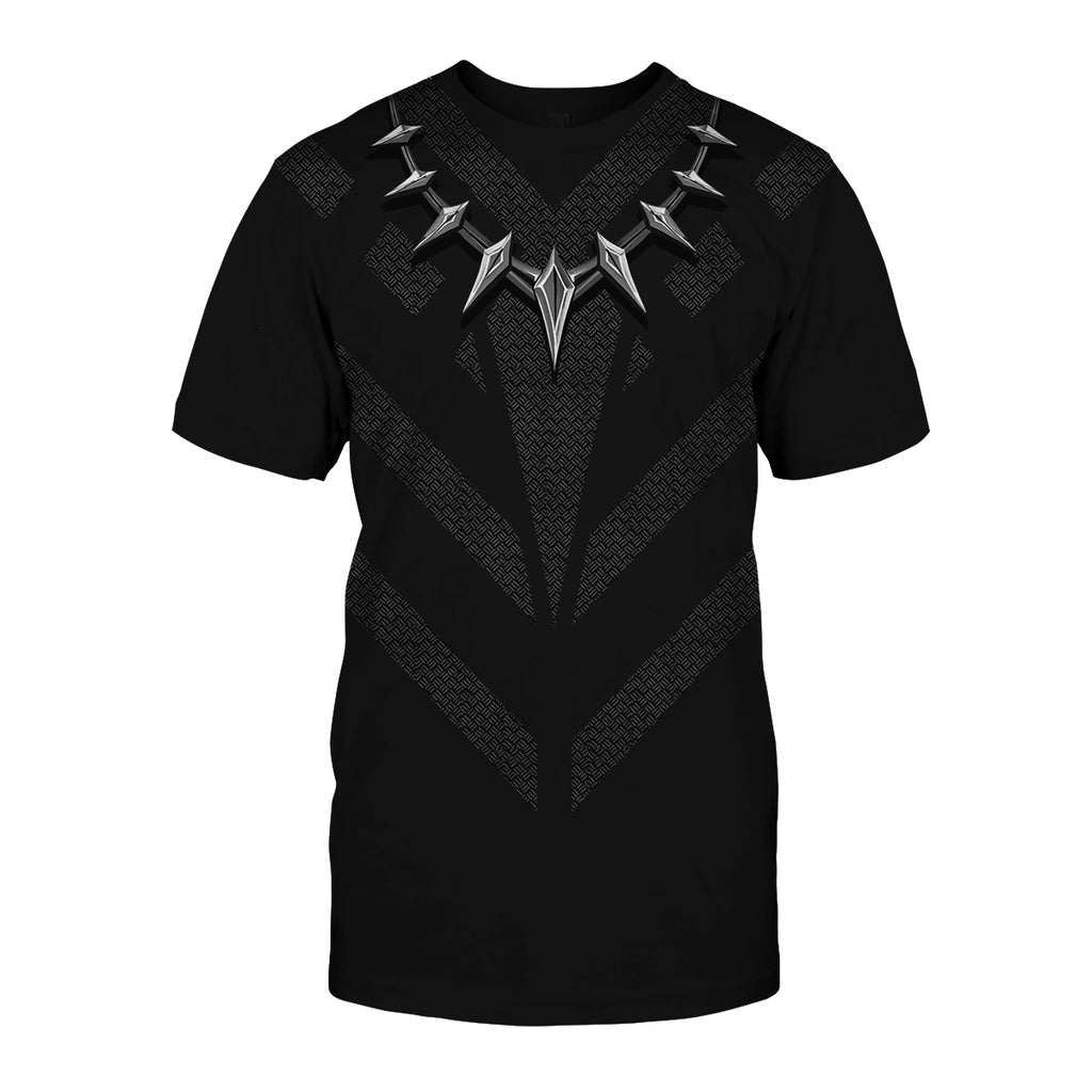 Black Panther Cosplay T-shirt US size