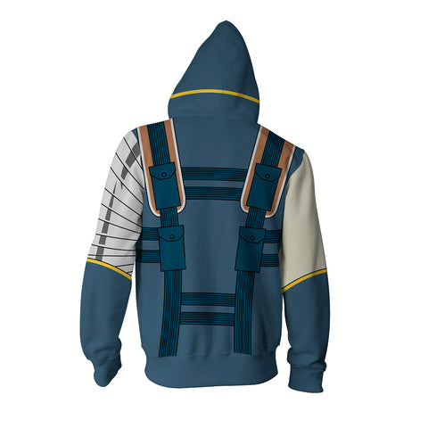 Image of Cable Marvel Zip Up Hoodie