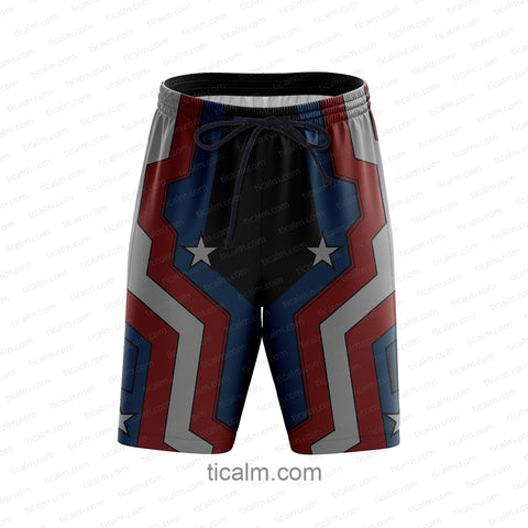 Image of Captain America Beach Shorts