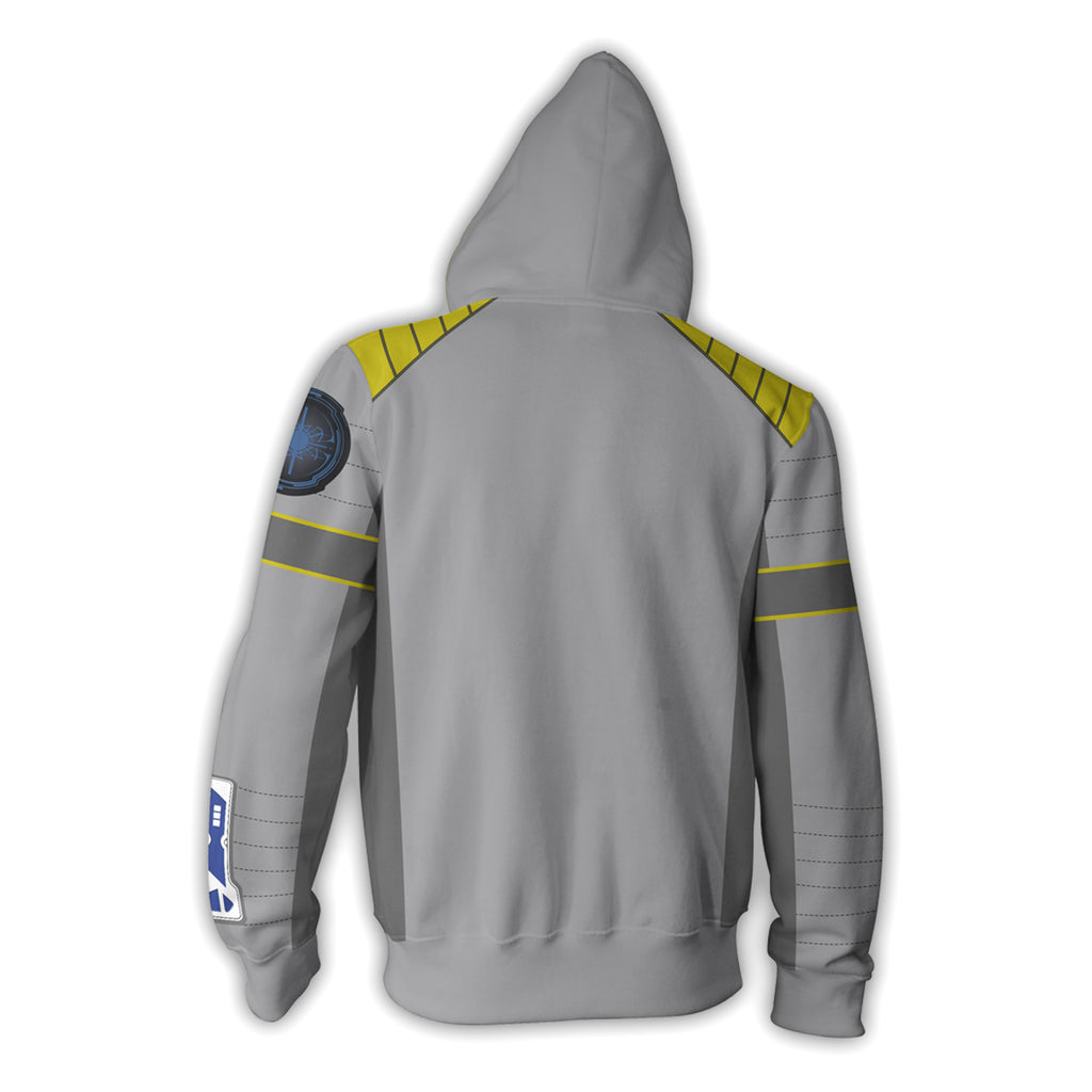 Star Trek Beyond Captain Kirk Zip Up Hoodie