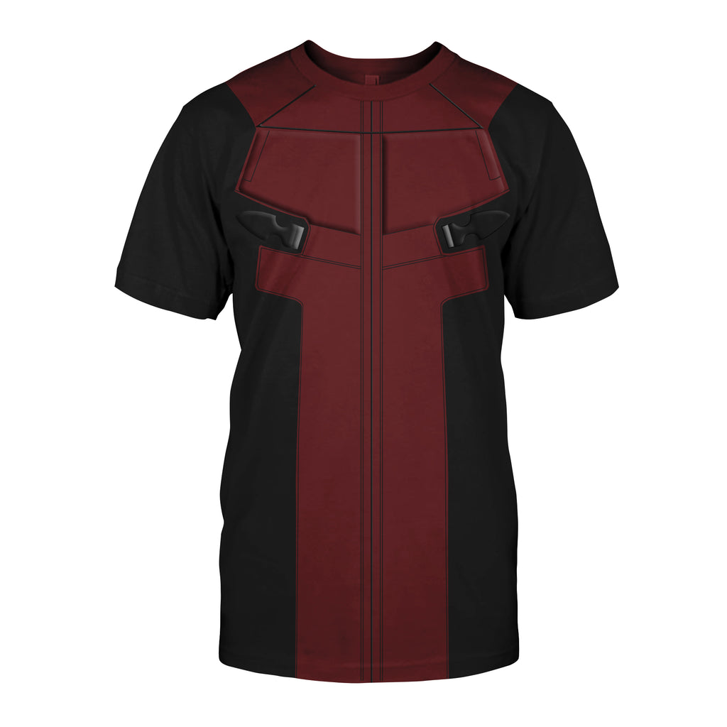 Deadpool Cosplay T-shirt US size