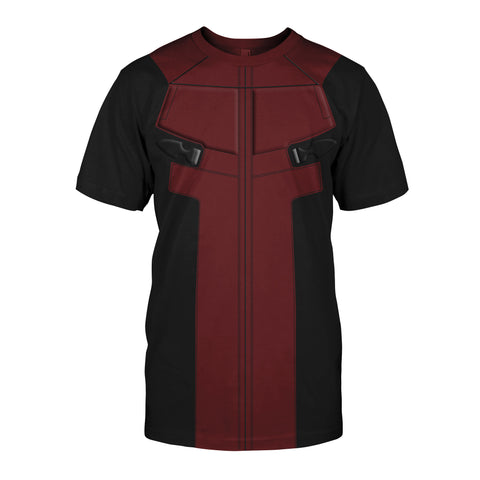 Image of Deadpool Cosplay T-shirt US size