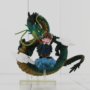 Dragon Ball Z Shenron Son Goku Kid PVC Figure