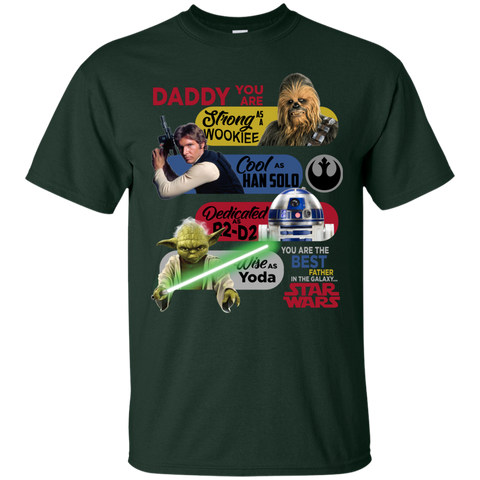 Image of Star Wars Daddy Cotton T Shirt